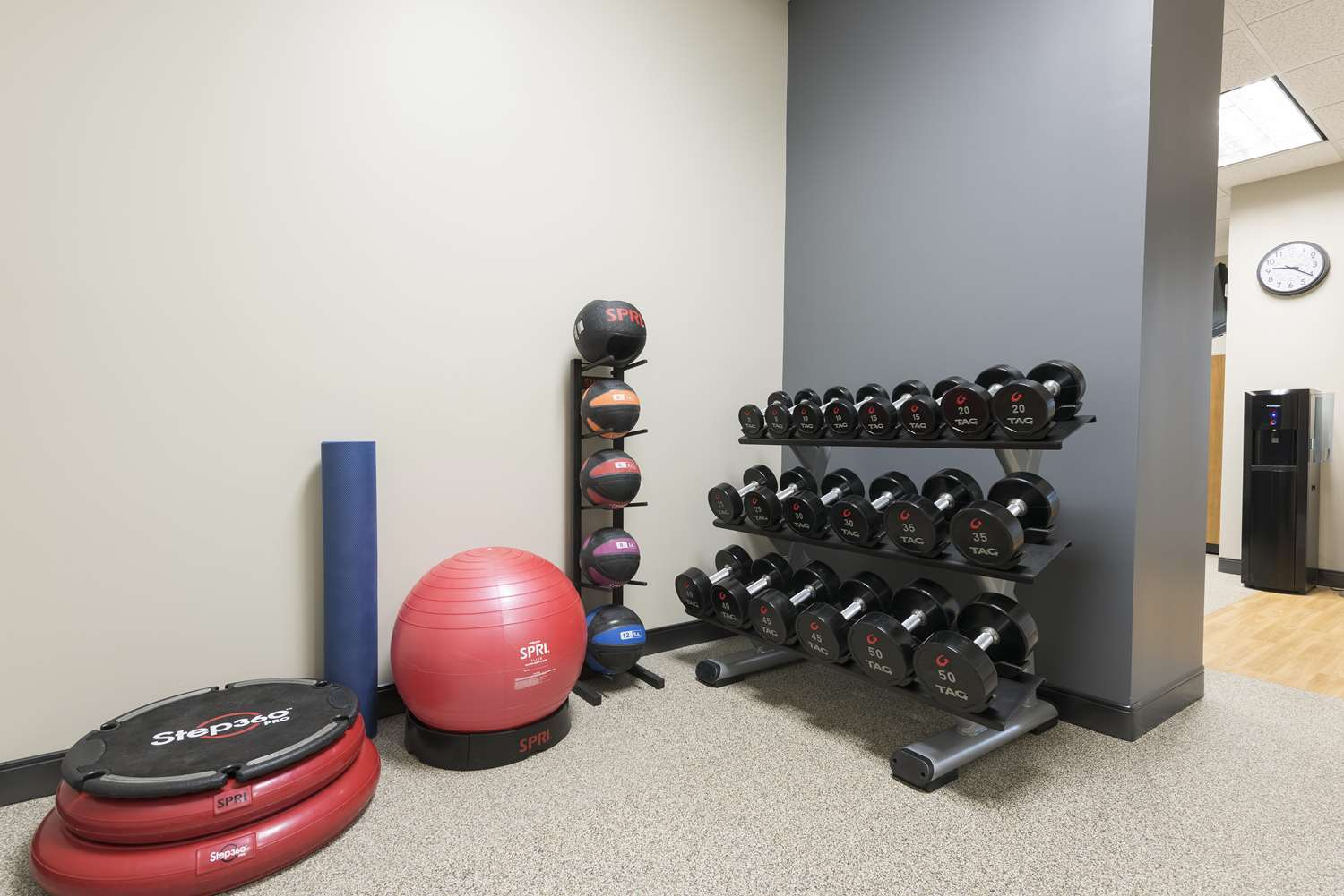 Fitness/ Exercise Room - DoubleTree by Hilton Hotel Pleasant Prairie
