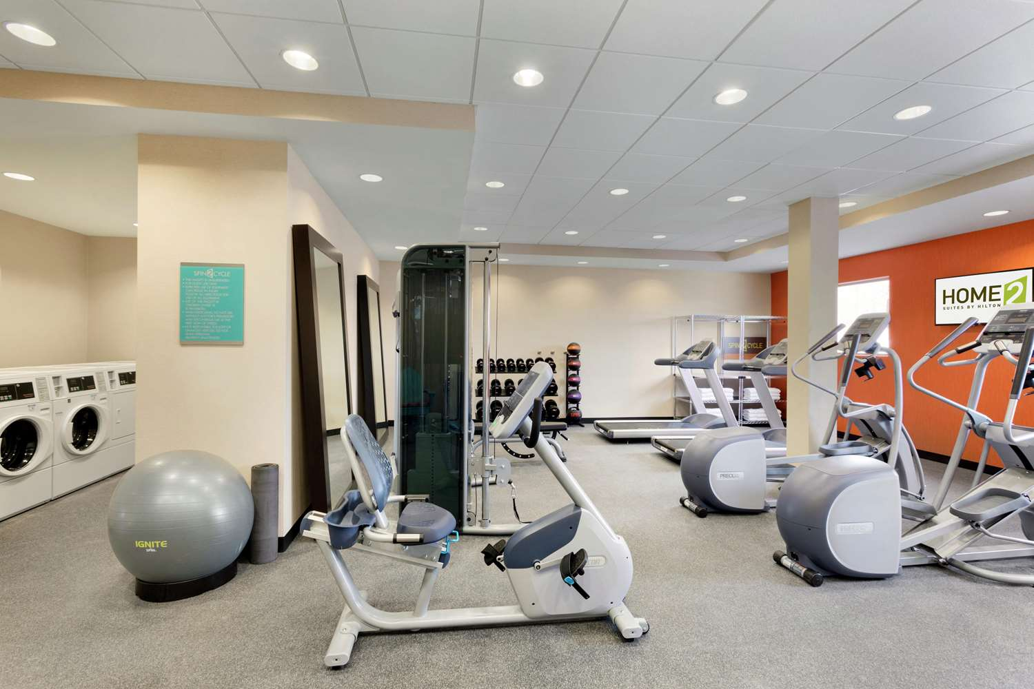 Fitness/ Exercise Room - Home2 Suites by Hilton Middletown