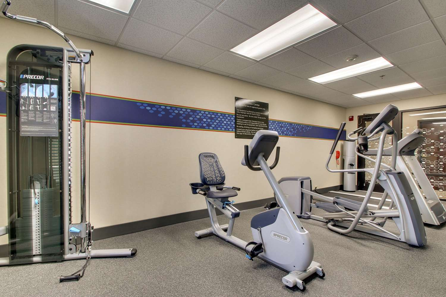 Fitness/ Exercise Room - Hampton Inn South Point South
