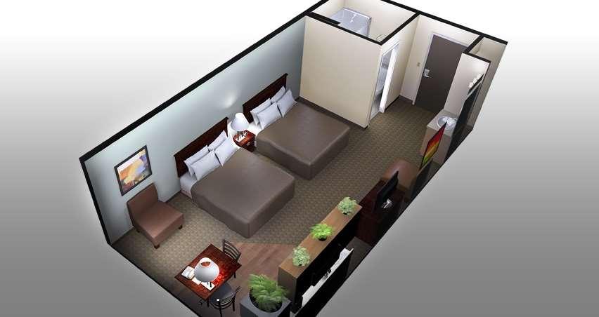 Room - Aptel Studio Hotel Anchorage