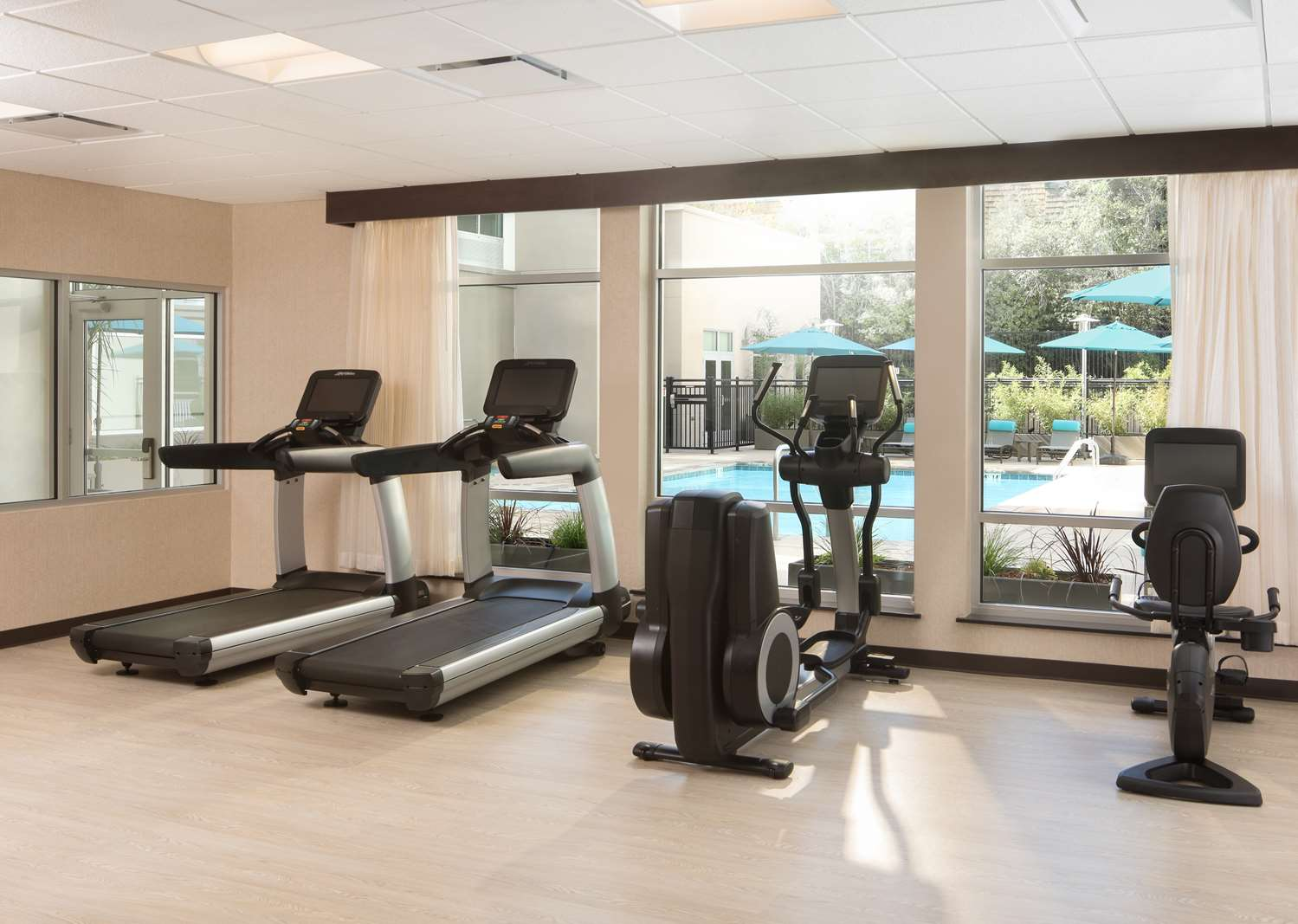Fitness/ Exercise Room - Hyatt Place Hotel Santa Cruz
