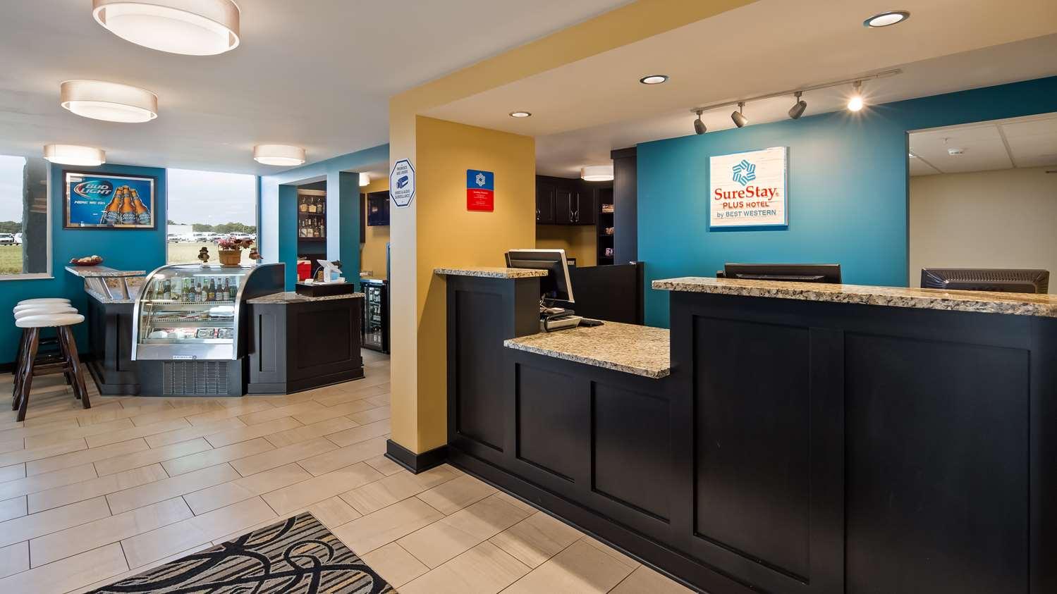 Lobby - SureStay Plus Hotel by Best Western Jasper