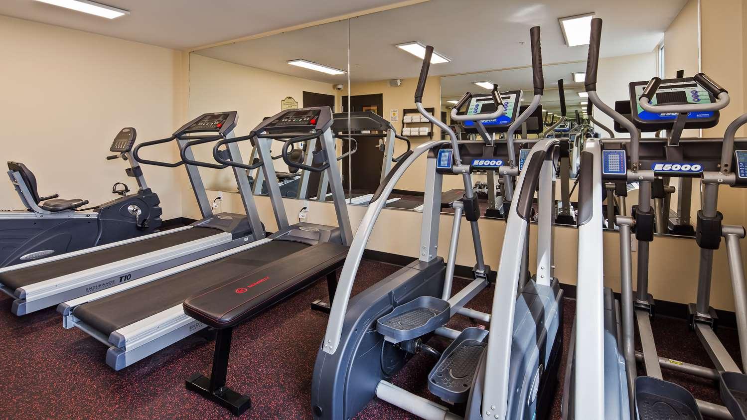 Fitness/ Exercise Room - SureStay Plus Hotel by Best Western Jasper