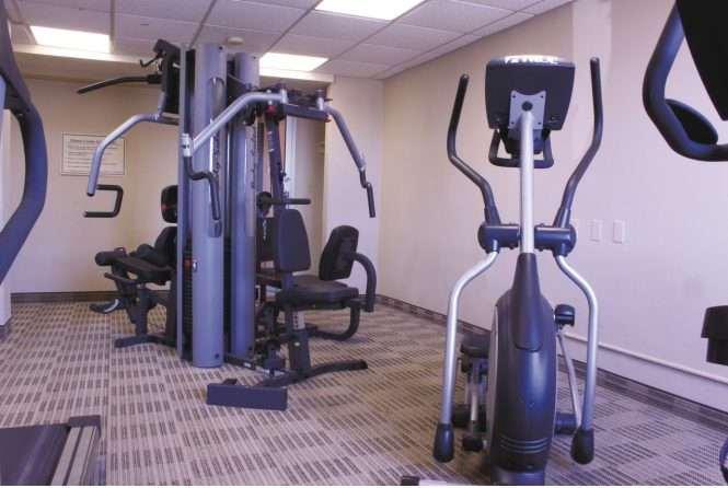Fitness/ Exercise Room - Days Inn Wayne