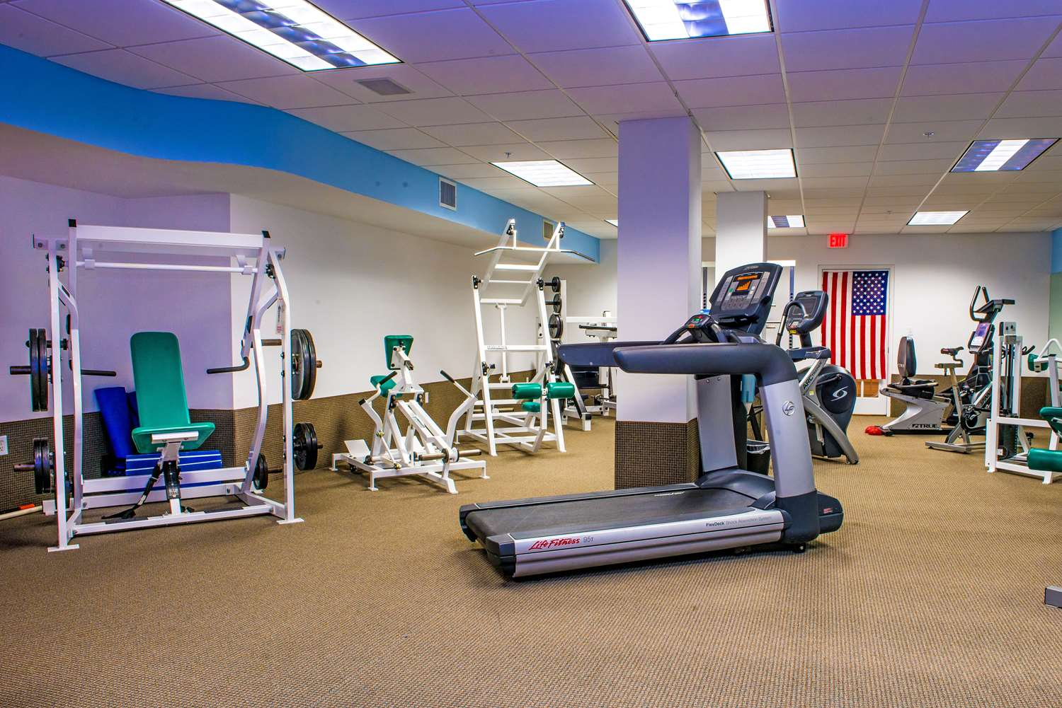 Fitness/ Exercise Room - Sea View Hotel Bal Harbour