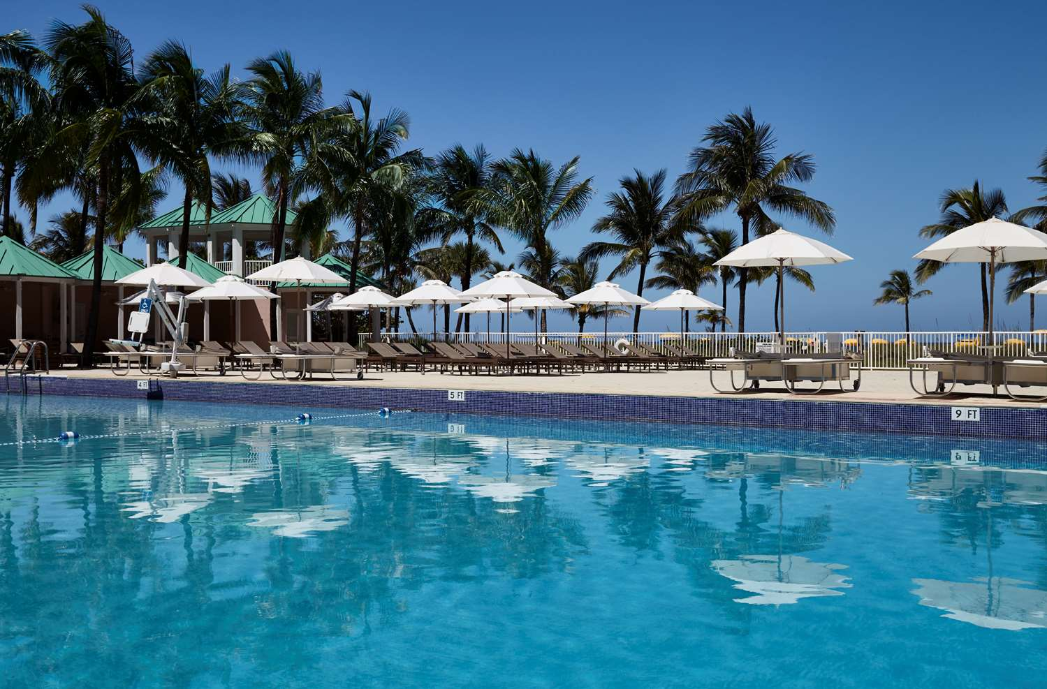 Pool - Sea View Hotel Bal Harbour