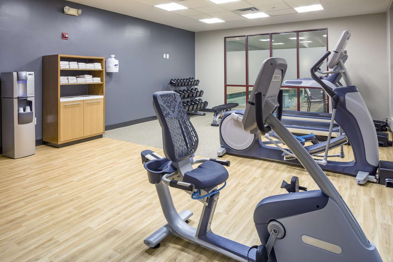 Fitness/ Exercise Room - DoubleTree by Hilton Hotel Logan Airport Chelsea