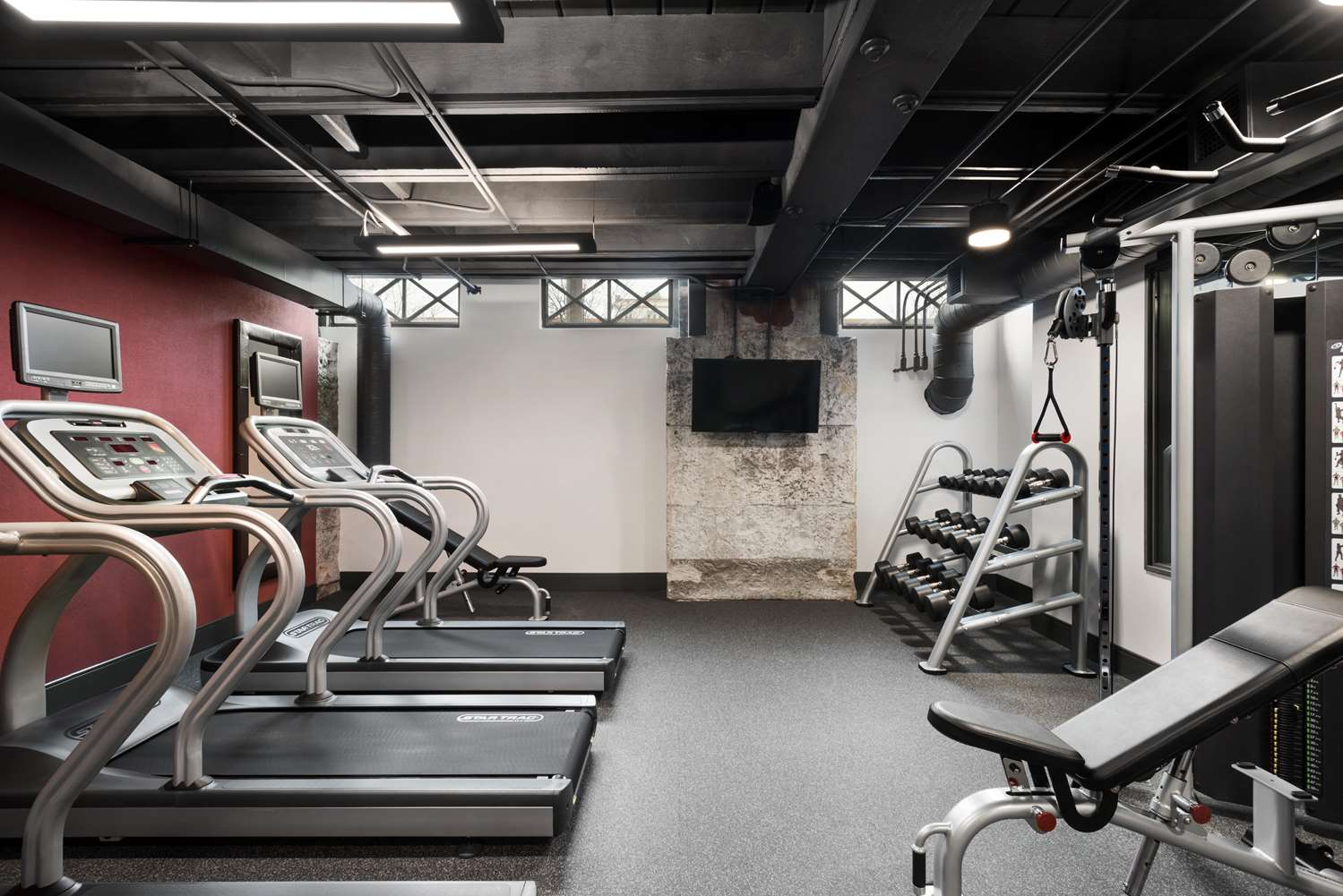 Fitness/ Exercise Room - Homewood Suites by Hilton Downtown Milwaukee