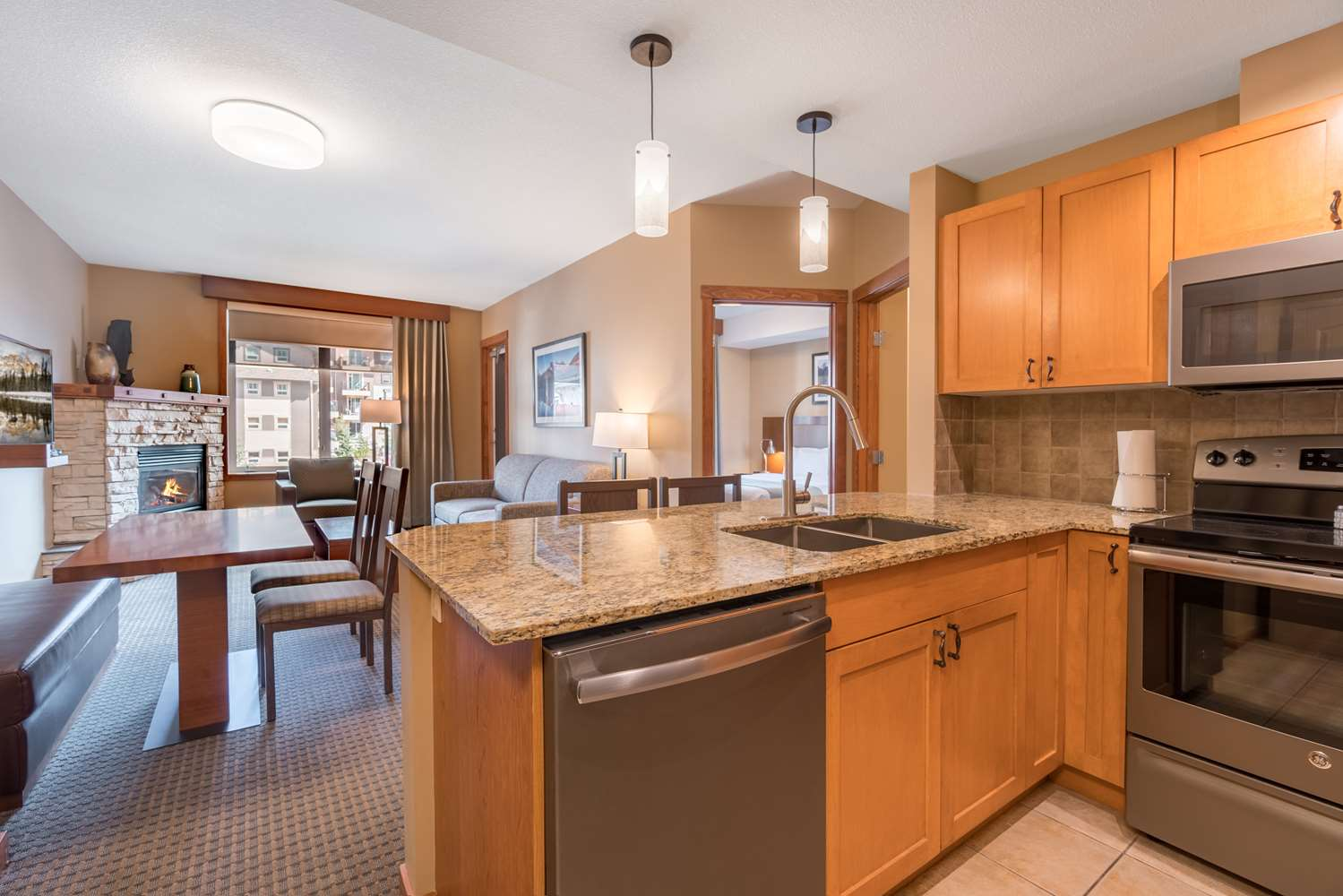 One Bed Suite Kitchen