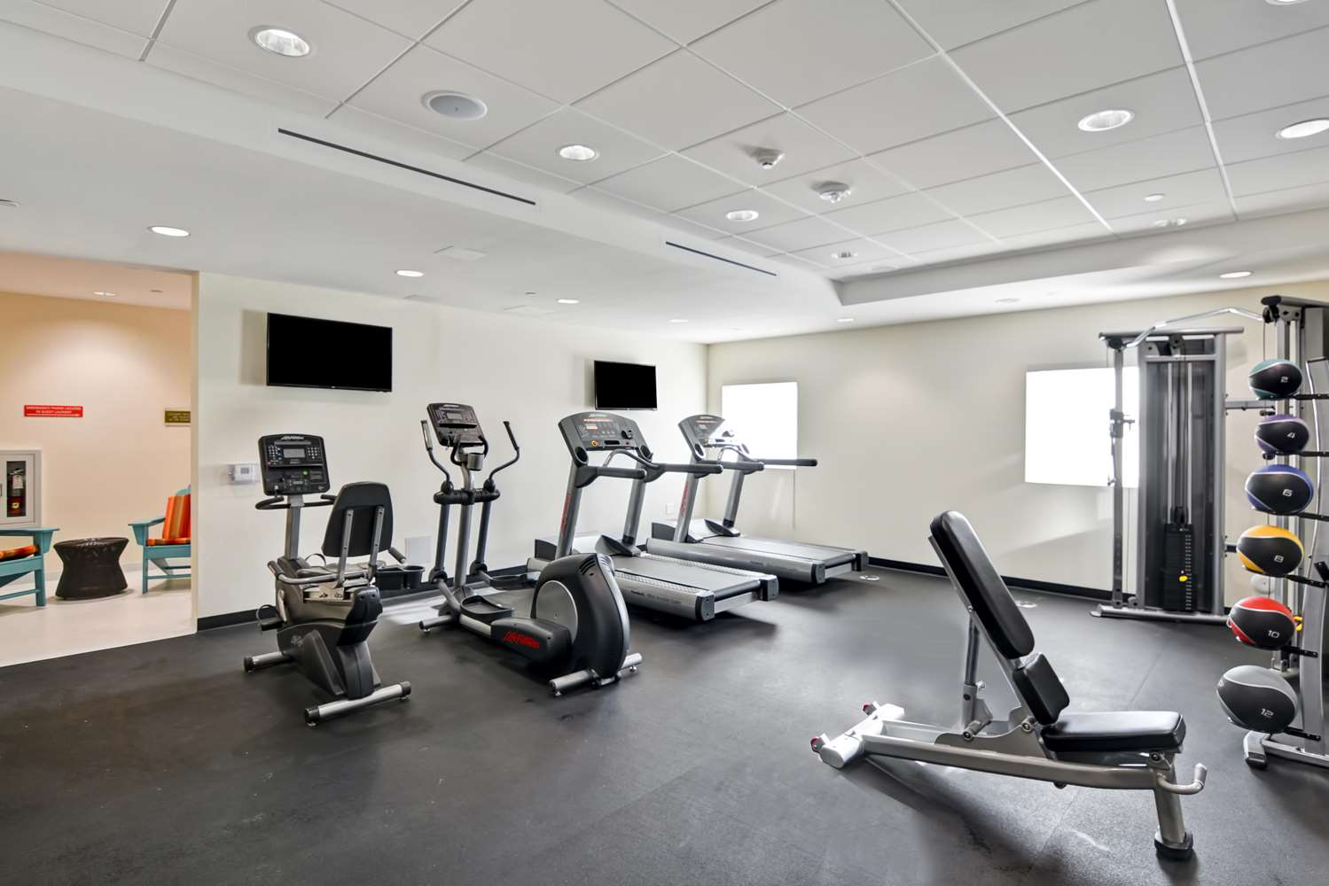 Fitness/ Exercise Room - Home2 Suites by Hilton Azusa