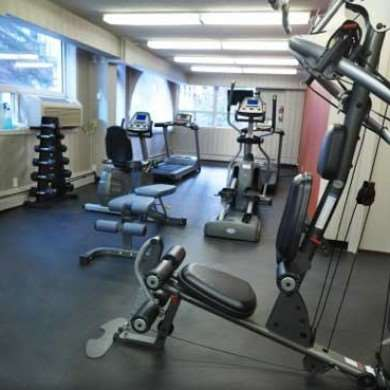 Fitness/ Exercise Room - Regency Suites Calgary