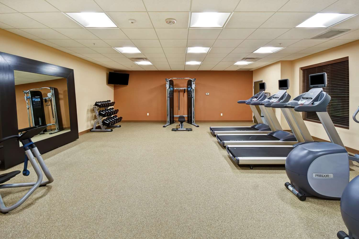Fitness/ Exercise Room - Homewood Suites by Hilton Pleasant Hill