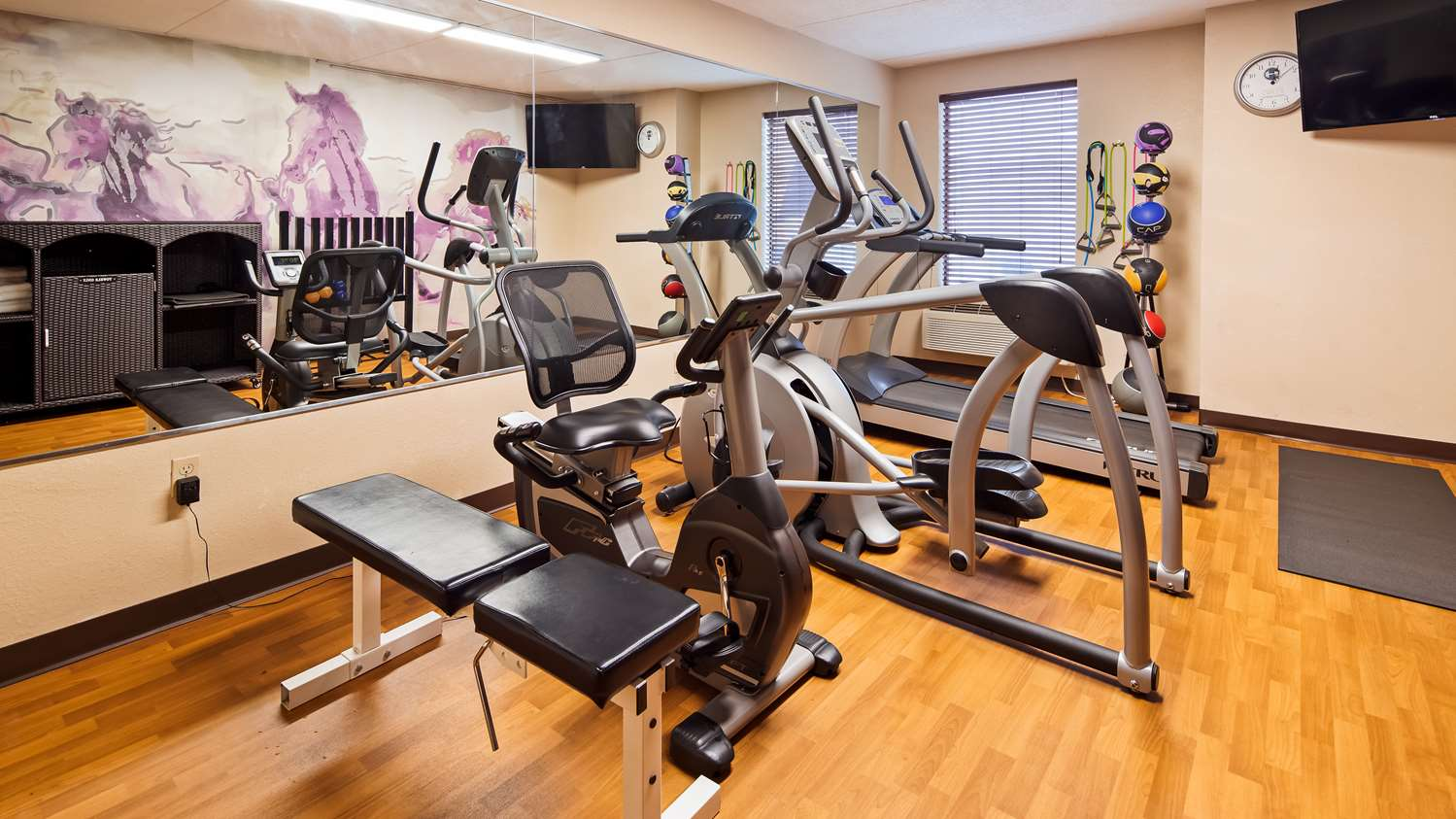 Fitness/ Exercise Room - Best Western Harrisburg North Hotel