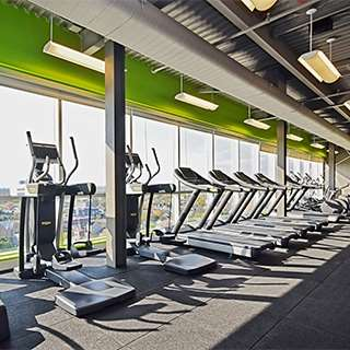 Fitness/ Exercise Room - LIV Extended Stay Hotel Downtown Ottawa