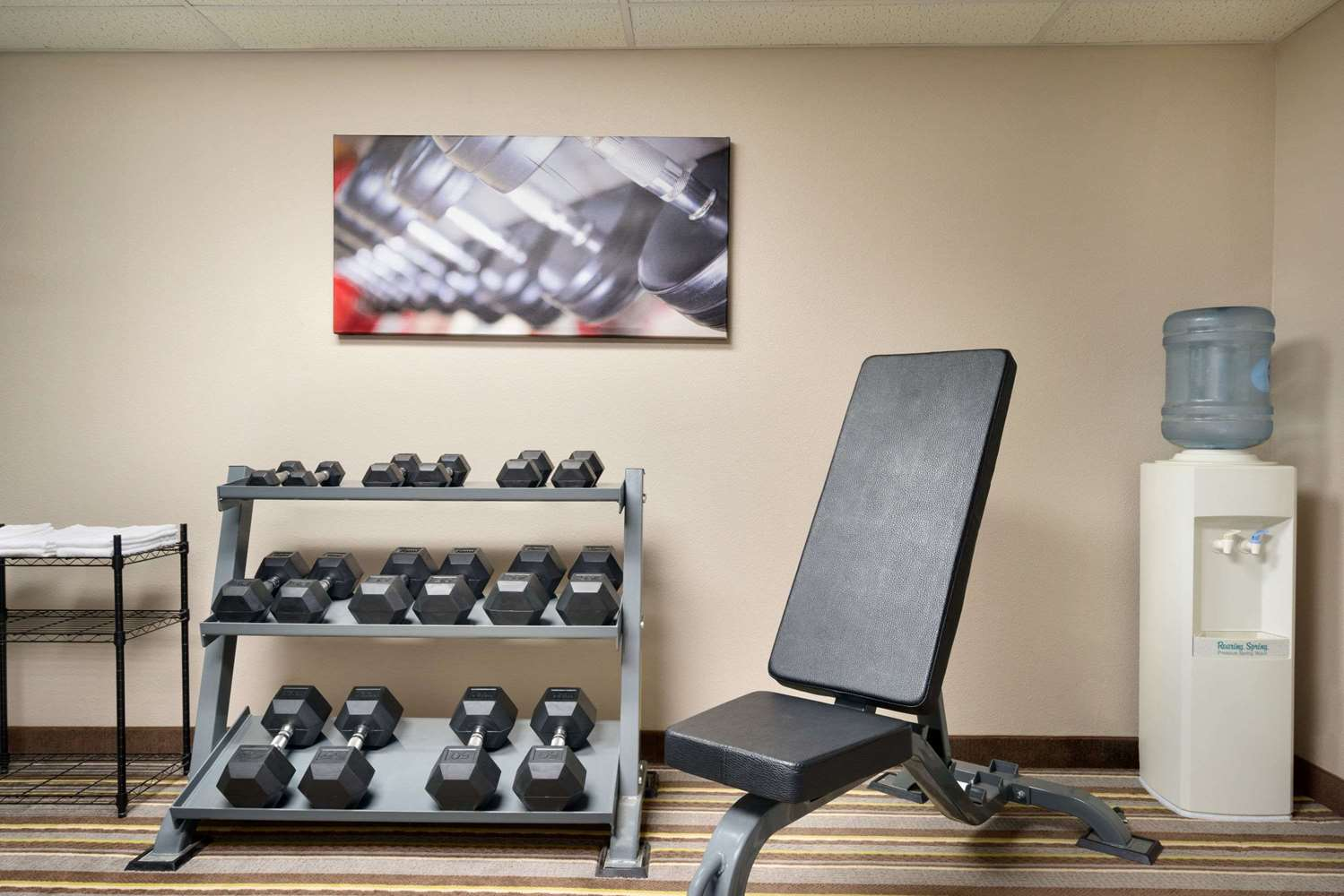 Fitness/ Exercise Room - Super 8 Hotel Chambersburg
