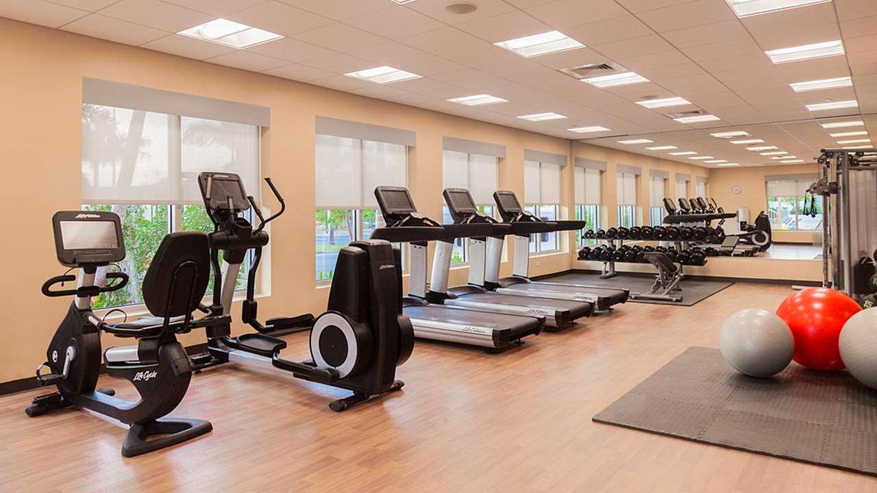 Fitness/ Exercise Room - Hyatt Place Hotel City Center San Juan