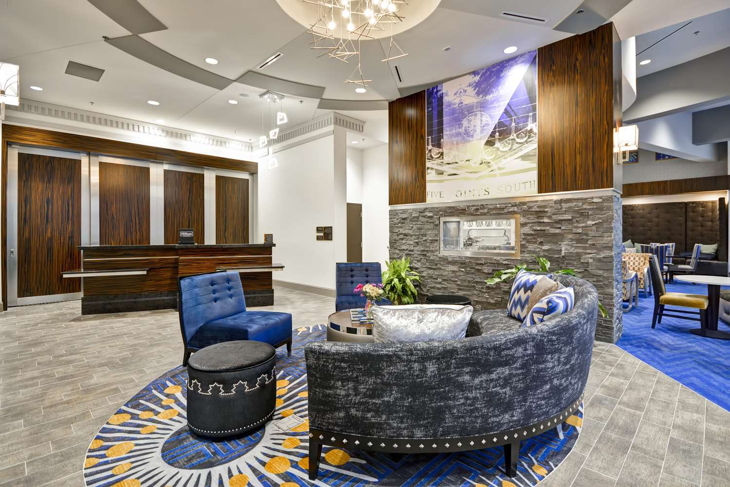 Lobby - Homewood Suites by Hilton Downtown Birmingham