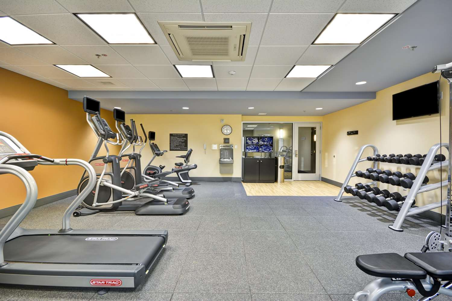 Fitness/ Exercise Room - Homewood Suites by Hilton Downtown Birmingham