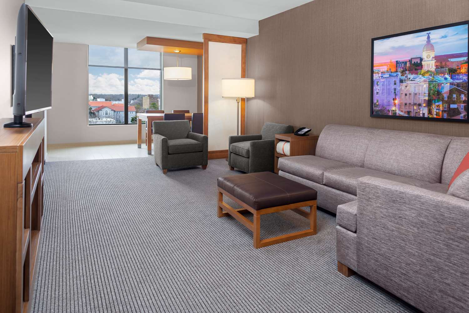 Suite - Hyatt Place Hotel Downtown Athens