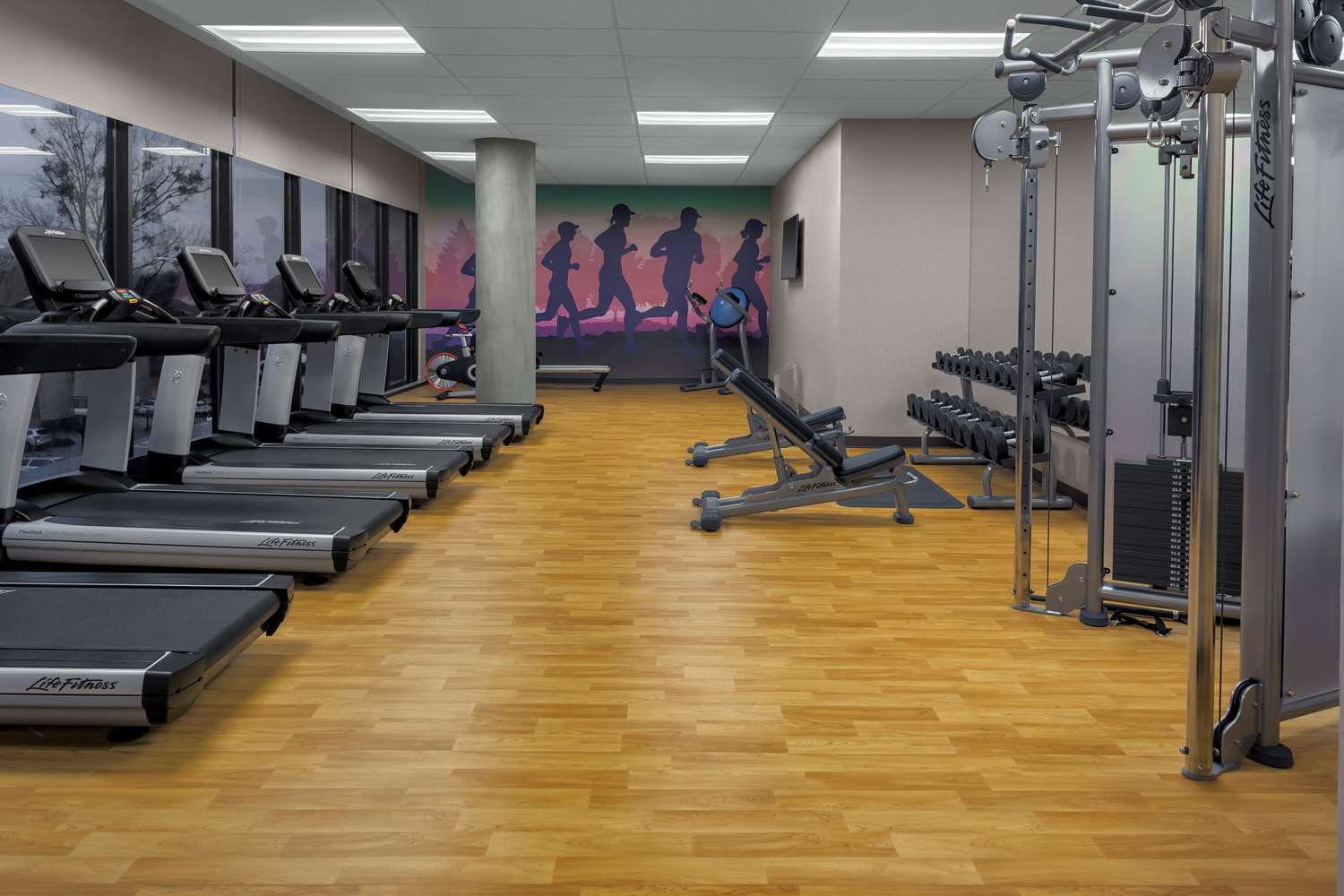 Fitness/ Exercise Room - Hyatt Place Hotel Downtown Athens
