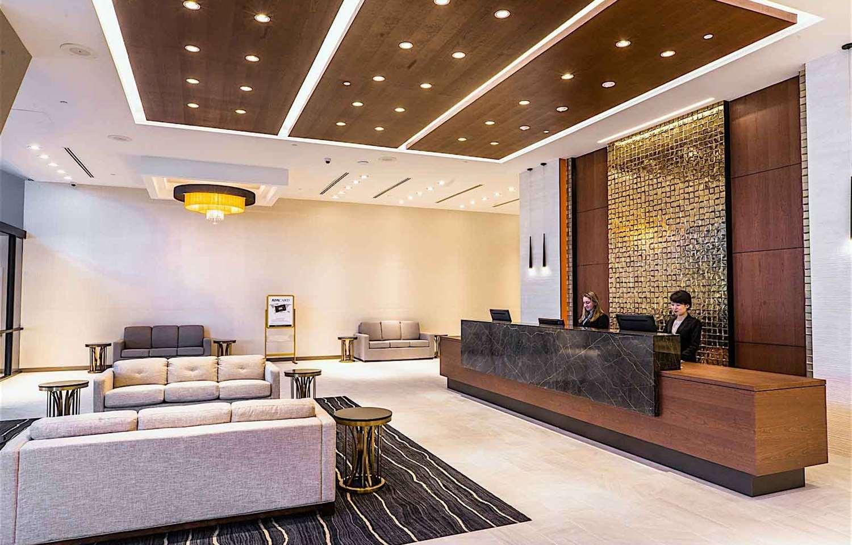 Lobby - APA Hotel Woodbridge Iselin