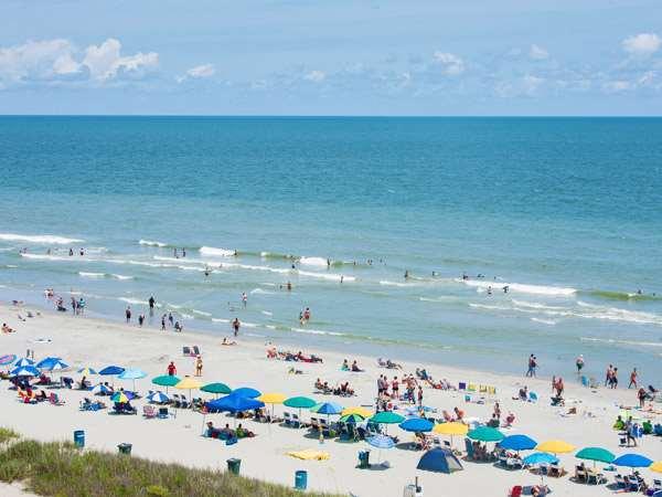 Beach - Carolinian Beach Resort Myrtle Beach
