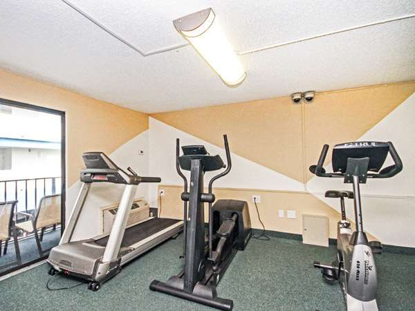 Fitness/ Exercise Room - Carolinian Beach Resort Myrtle Beach