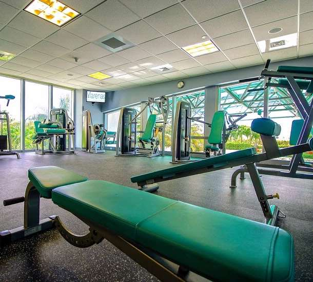 Fitness/ Exercise Room - Marenas Resort Sunny Isles Beach