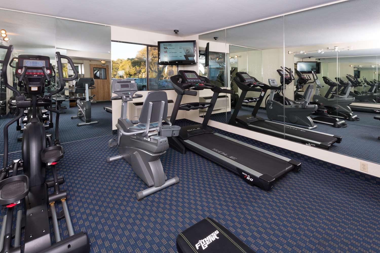 Fitness/ Exercise Room - Marina Inn on San Francisco Bay San Leandro