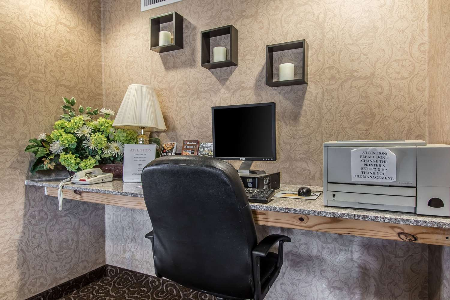 Conference Area - Quality Inn Andalusia