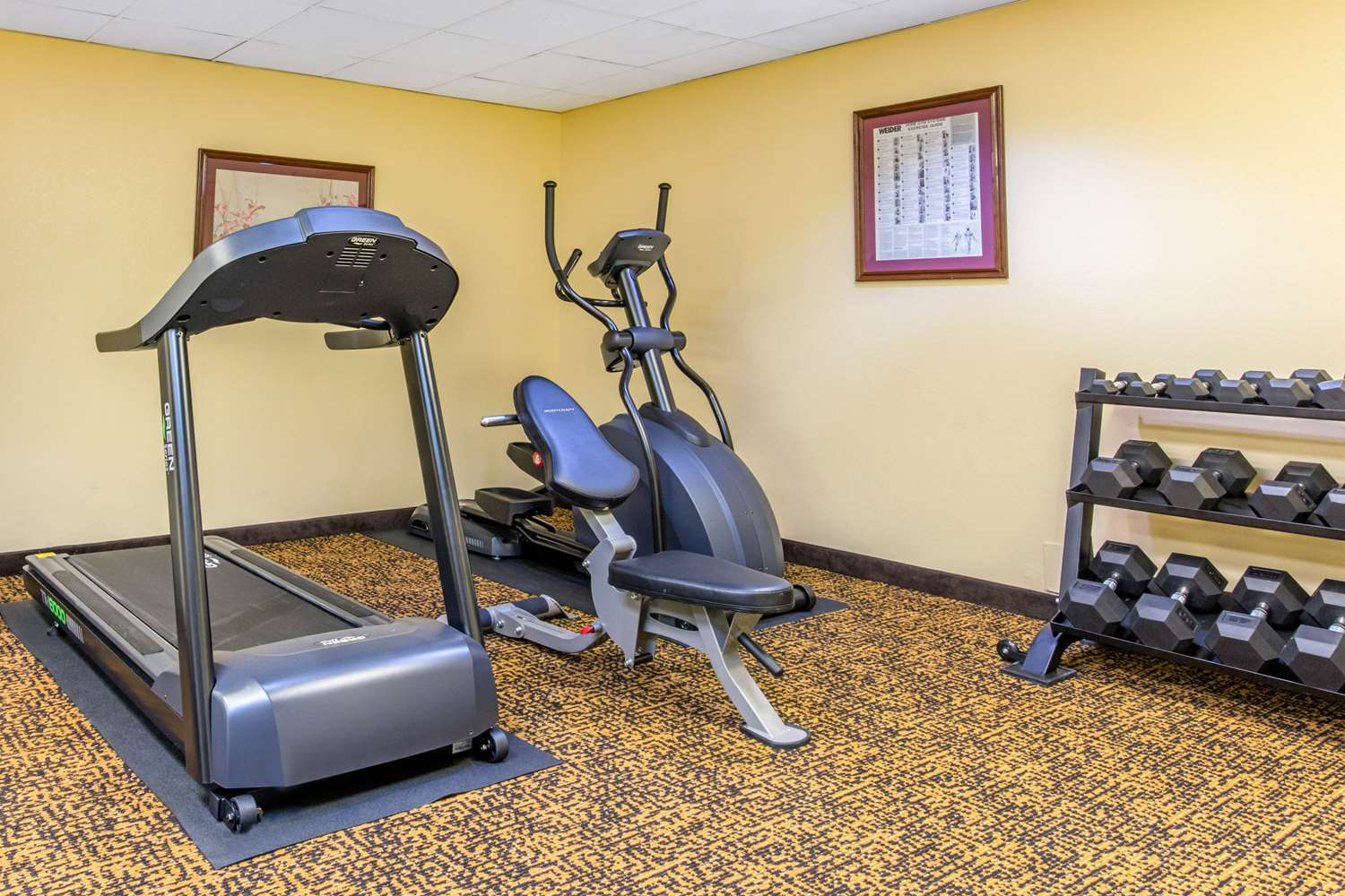 Fitness/ Exercise Room - Quality Inn & Suites ASU Montgomery