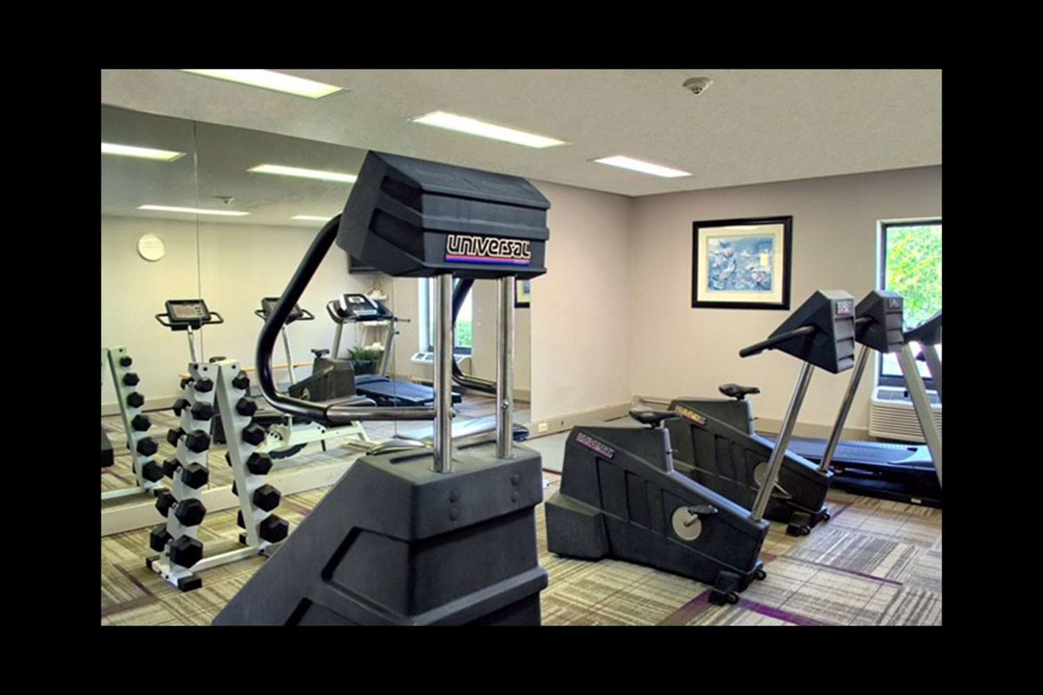 Fitness/ Exercise Room - Quality Inn & Suites West Mobile