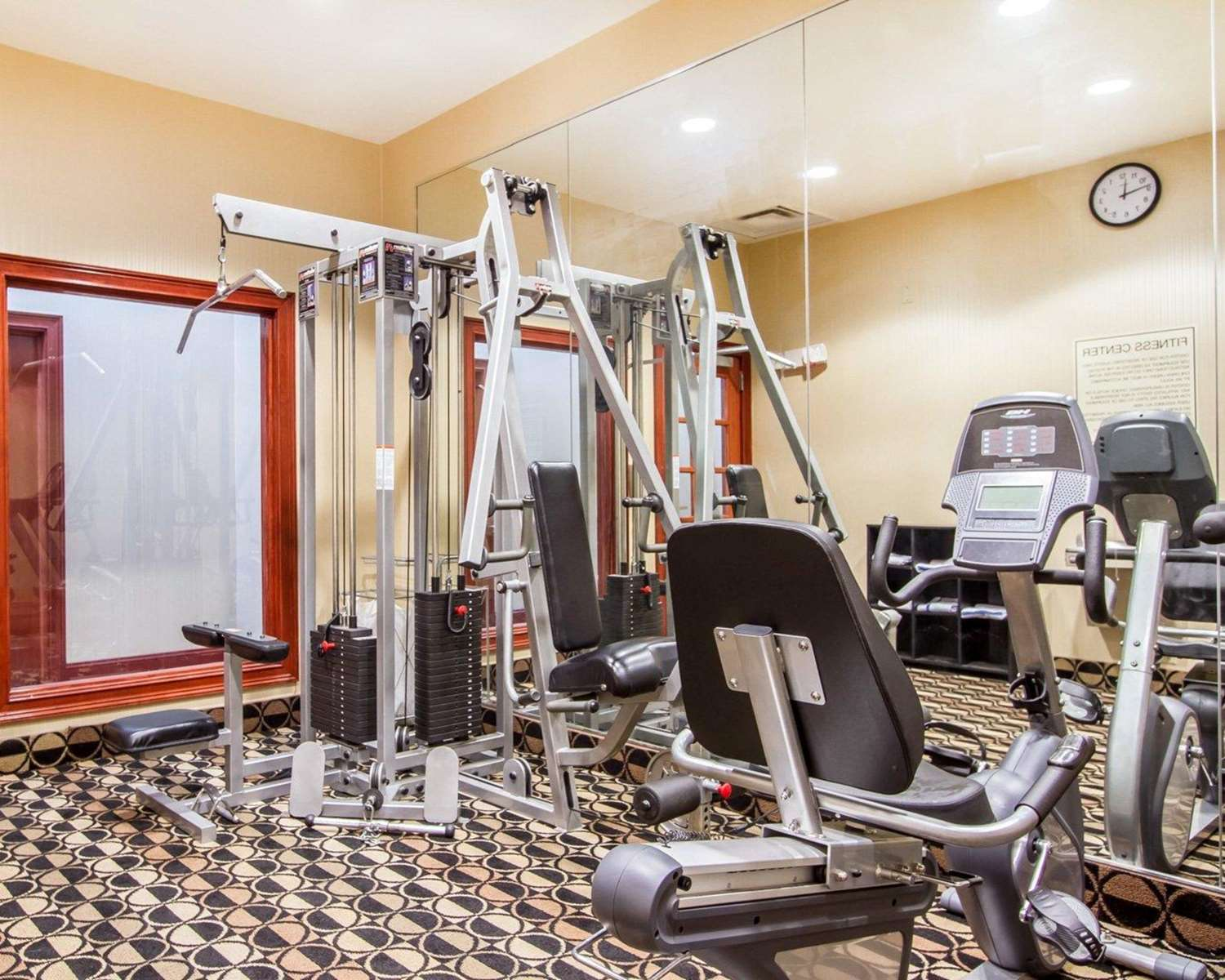 Fitness/ Exercise Room - Quality Inn & Suites Greenville
