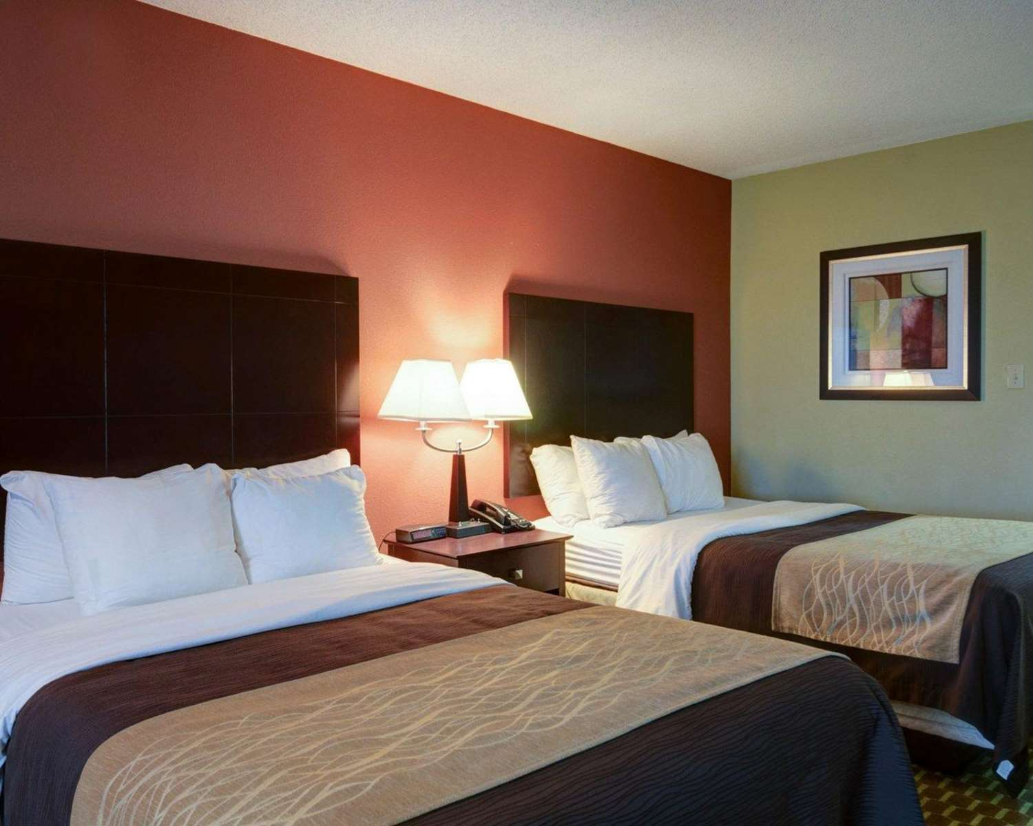 Room - Quality Inn & Suites Pine Bluff
