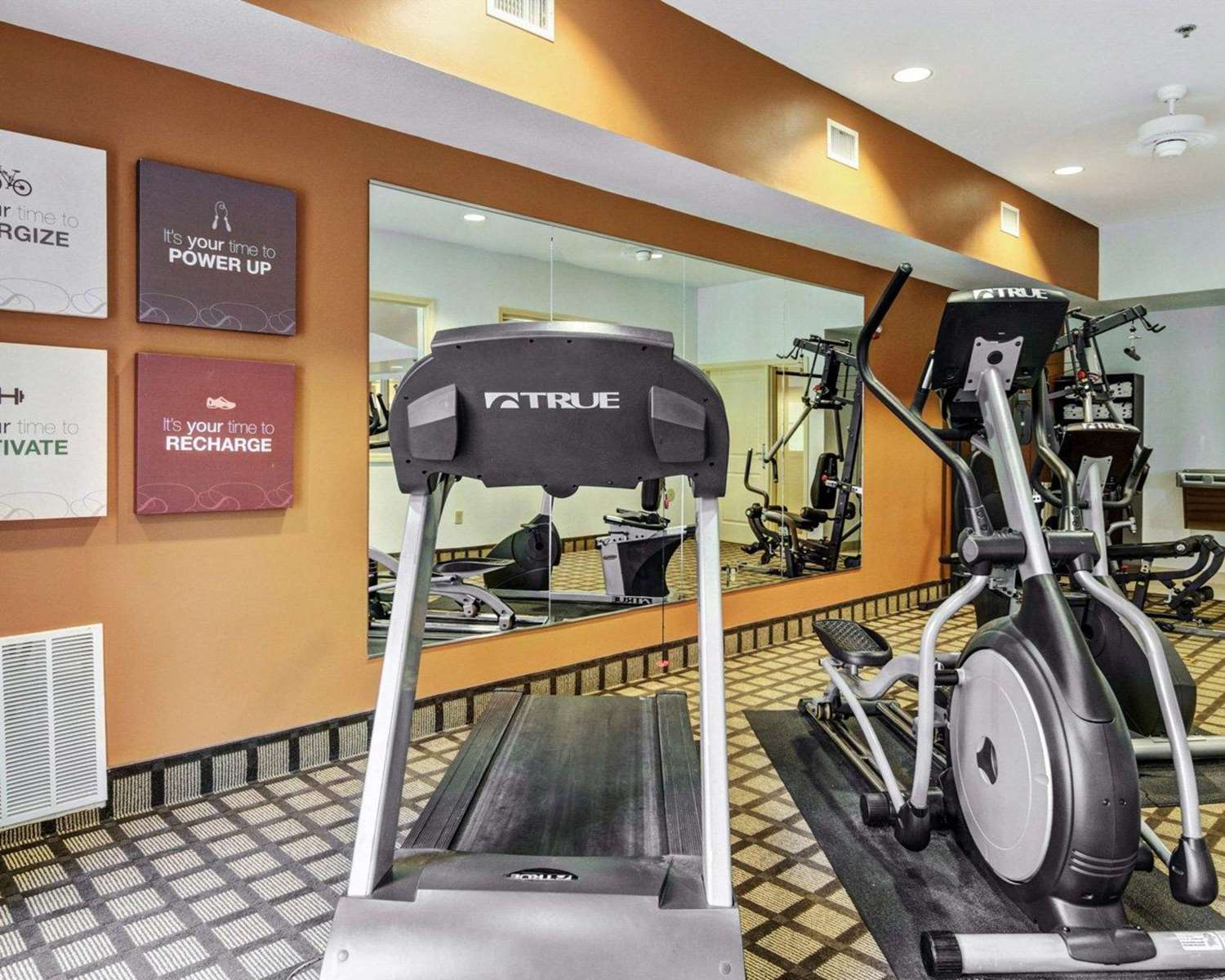 Fitness/ Exercise Room - Comfort Suites Hot Springs
