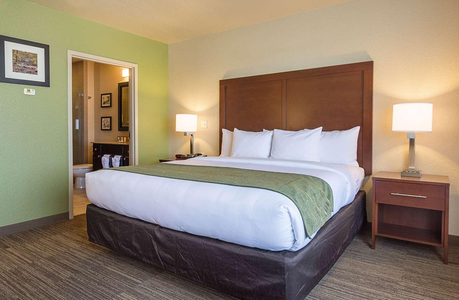 Suite - Comfort Inn Crystal Bridges Bentonville