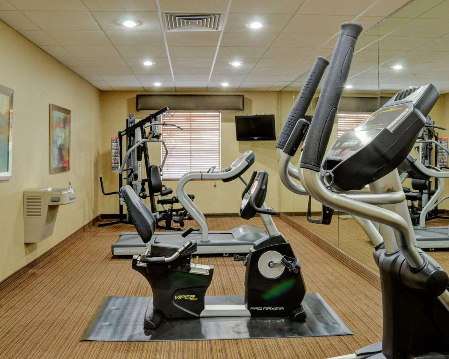 Fitness/ Exercise Room - Comfort Inn & Suites Fort Smith