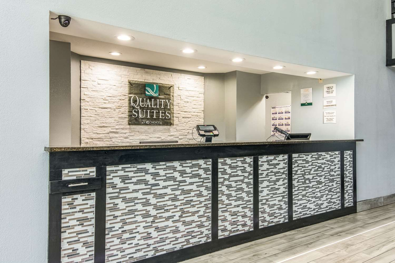 Lobby - Quality Suites Maumelle