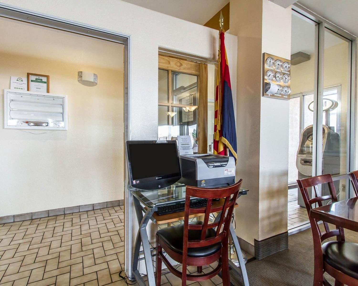 Conference Area - Rodeway Inn & Suites Flagstaff