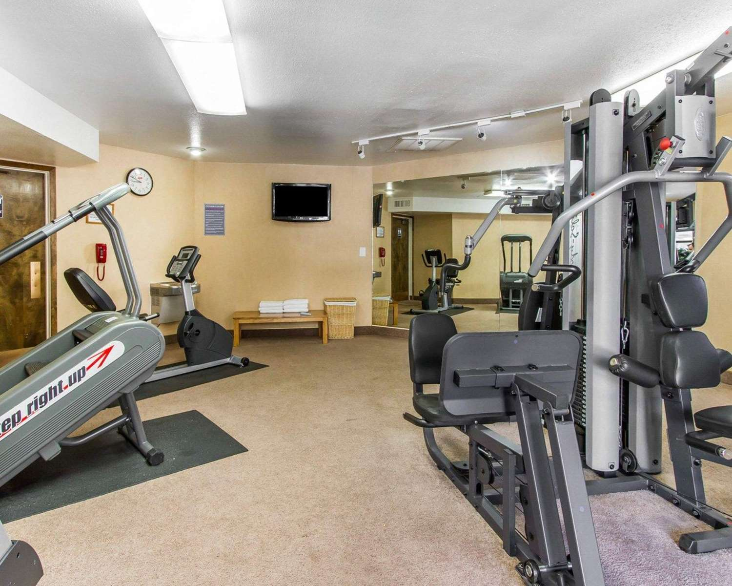 Fitness/ Exercise Room - Quality Inn Navajo Nation Tuba City
