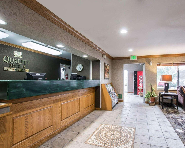 Lobby Quality Suites Otay Mesa San Go
