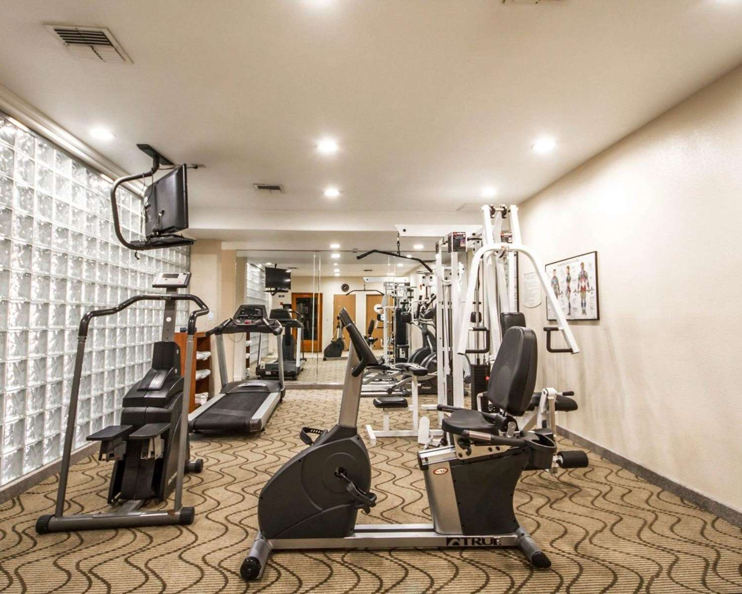 Fitness/ Exercise Room - Comfort Inn & Suites Airport Oakland