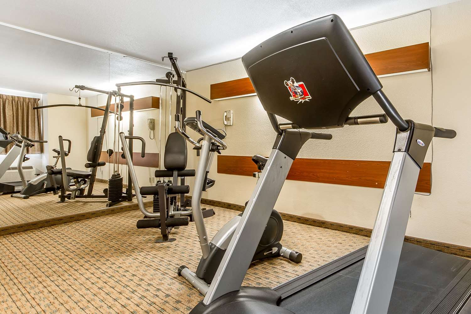Fitness/ Exercise Room - Quality Inn & Suites Santa Rosa