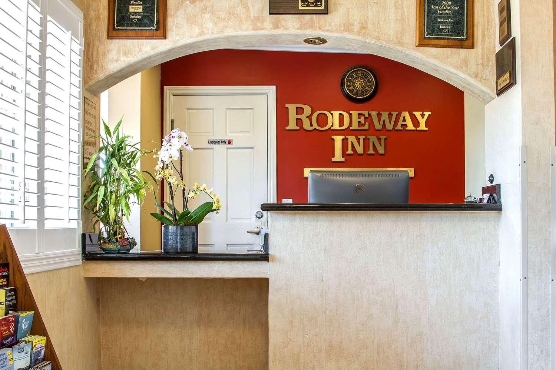 Lobby - Rodeway Inn Berkeley