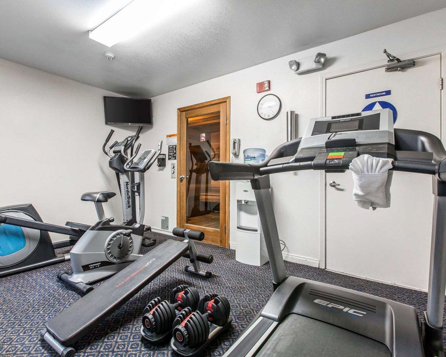 Fitness/ Exercise Room - Comfort Inn Sequoia National Park Three Rivers