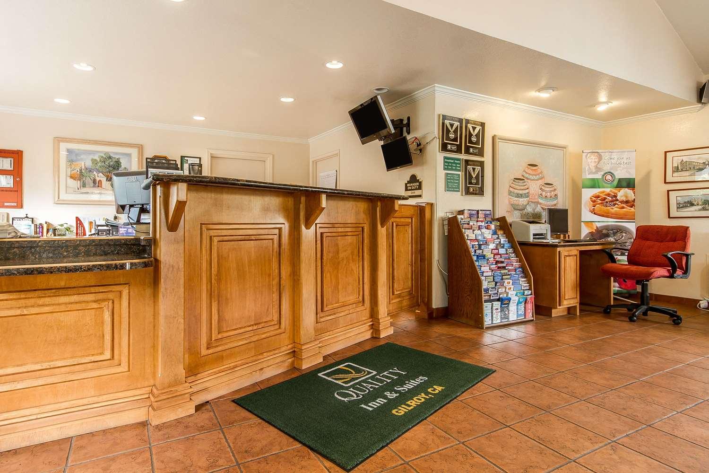 Lobby - Quality Inn & Suites Gilroy