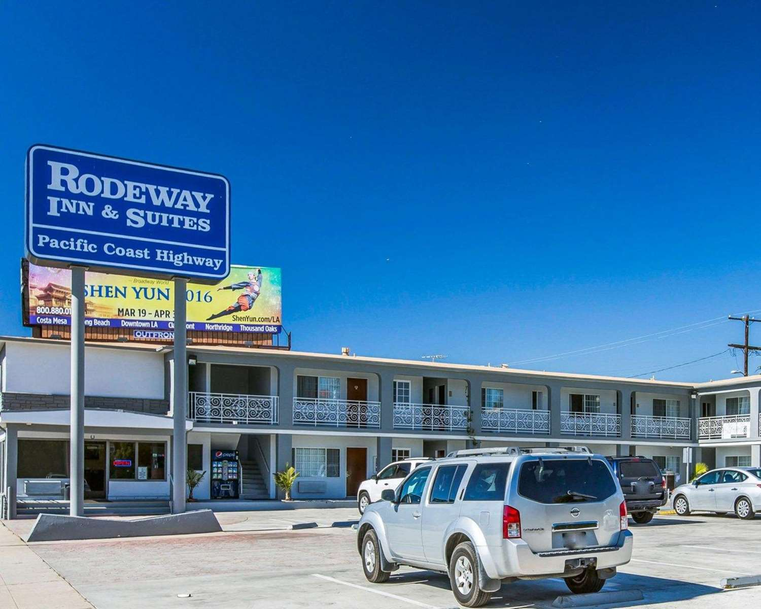 Exterior view - Rodeway Inn & Suites Harbor City