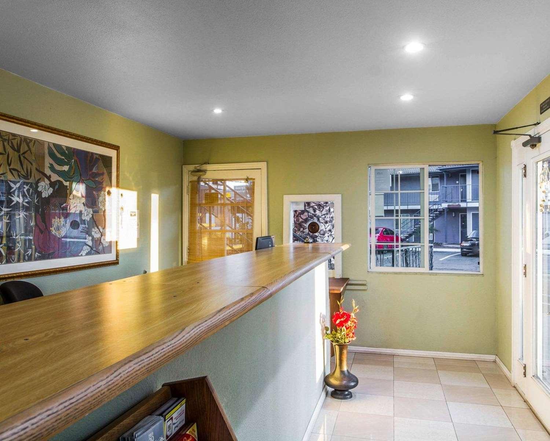 Lobby - Rodeway Inn Vallejo