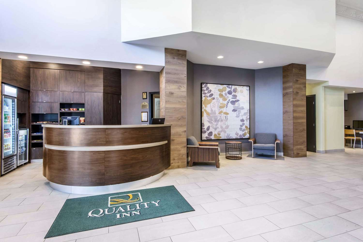 Lobby - Quality Inn Toronto Airport West Mississauga