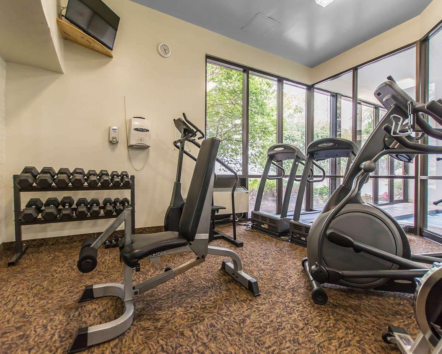 Fitness/ Exercise Room - Quality Inn Bay Front Sault Ste Marie